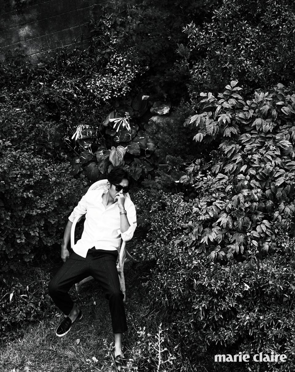 마리끌레르 코리아 - 하정우의 자리